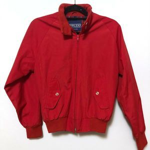 Lands End Vintage Red Women's Small Jacket